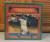 Vintage Game of Baseball Trivia Board Game NEW Sealed 1989 Golden Era Collector