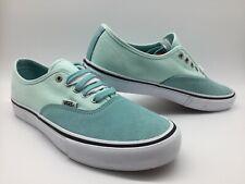 """Vans Men/Women's Shoes""""Authentic Pro"""" --Aqua Haze/Soothing Sea"""