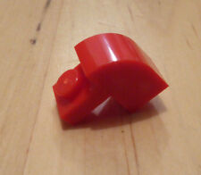 LEGO 6091 - BRICK MODIFIED 1x2x1 1/3 with Curved Top in Red - NEW pack of 20
