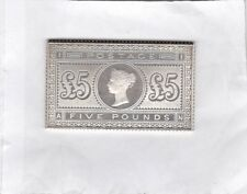 VICTORIAN FIVE POUNDS SILVER STAMP INGOT IN NEAR MINT CONDITION
