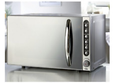 EGL 20 LITRE MIRROR FRONT DOOR MICROWAVE 800W LED DISPLAY DEFROST AUTO COOK NEW