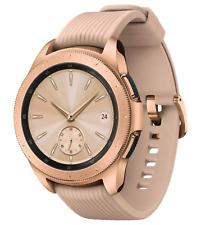 NEW Samsung Galaxy Watch 42mm GPS SM-R810 Rose Gold Smartwatch Bluetooth