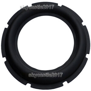 """2pcs 12"""" inch Speaker Rubber Edge Replacement Bass Woofer Surround Circle Repair"""