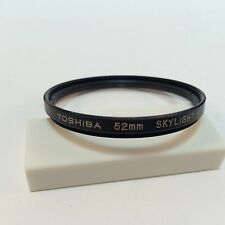 Toshiba 52mm skylight 1A Lens Filter Made in Japan