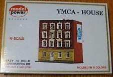 "Model Power N #1533 Building Kit -- YMCA Building - 3-1/4 x 3"" 7.8 x 7.5cm"