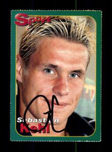 Sebastian Kehl SC Freiburg Bravo Card Original Signiert + A 216891
