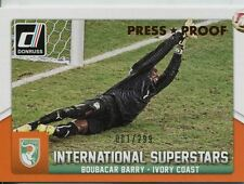 DONRUSS Soccer 2015 Bronze [299] int. Superstars Chase Card #54 BOUBACAR BARRY