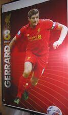Steven Gerrard - Liverpool - Action Poster - Unframed