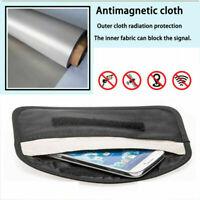 Anti-theft Car Key Fobs RFID Signal Blocker Faraday Signal Blocking Pouch Bag;