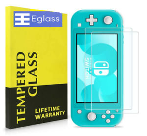2 Pack Nintendo Switch LITE Screen Protector Tempered Glass Kit 9H Anti-scratch