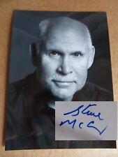 Autografo Originale di Steve McCurry