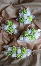 ANY COLOUR 4tier cake topper foam roses artificial wedding flowers spray decor