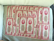 30 Pcs Collectible China 1930 100Yuan Paper Money GEM UNC