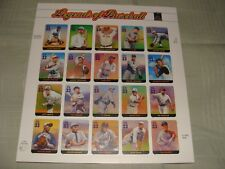 """LEGENDS OF BASEBALL"" stamps  NEW"