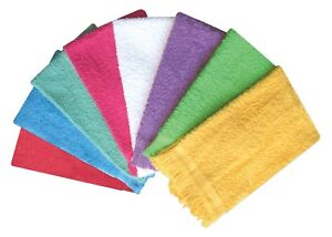 6 Piece Deluxe 100% Cotton Guest Towel 28X46 CM