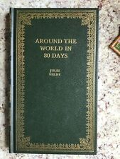 AROUND WORLD IN 80 DAYS Jules Verne Peebles Classic Library Hardcover