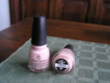 China Glaze Nail Polish Lacquer w/Hardeners NOTE TO SELFIE 1541 Light Nude Pink