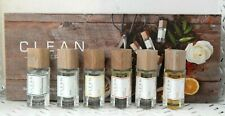 6 Pc Gift Set CLEAN RESERVE Travel EDP PERFUME Spray Collection 0.17 ozEa NIB WM