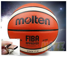 Molten Basketball Gg7X 7 Pu Men In/Outdoor Fun Training Ball+Net+Pin+Whistle