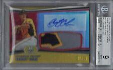 2012 Bowman Platinum Relic GERRIT COLE Autograph Patch #11/25 BGS 9/10   (B1053)