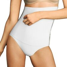 NEW Flexees Fat Free Dressing Hi Waist Brief Panty Shaper 1854 XL White #52385