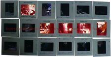 Lot of EIGHTEEN 1971 NEW YORK Watkins Glen 35mm Slides