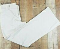 Ann Taylor LOFT Women's Dress Khakis Size 2 Beige Inseam 31