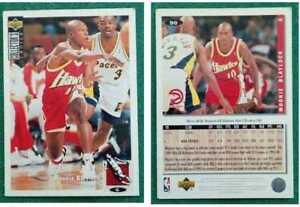 Figurina Card NBA MOOKIE BLAYLOCK upper deck COLLECTOR'S CHOICE italy HAWKS