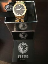 Versus by Versace VSP721717 Miami Black Dial Gold Tone Stainless Women's Watch