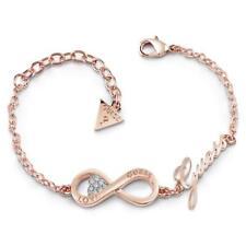 Guess Endless Love Rose Gold Plated Ladies Bracelet UBB85066-L