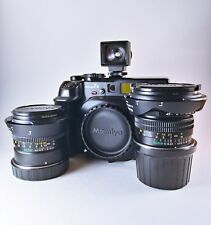 Near Mint Mamiya 7 II Medium Format Camera Body With 50mm & 80mm Lenses