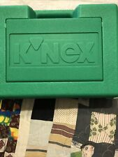 Vintage 1997 Knex In Green Hard Carry Case As Pictured Good Condition
