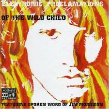 Jim Morrison - Electronic Proclamations Of The Wild Child (NEW CD)