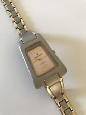 Excellent Ladies Gold And Silver Condition Working Quartz Watch