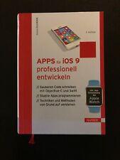 Apps IOS 9 entwickeln Buch Programmieren IT Code Schreiben Technik Hanser Apple