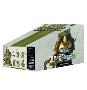 Space Marine Heroes Series 3 Death Guard (Complete set - all 6 sealed box) NEW