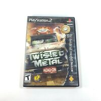 Twisted Metal Head-On PS2 (Sony, PlayStation 2) Complete w/ Manual - Tested!