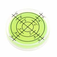 2PC 32*7mm Circular Spirit Bubble Degree Mark Surface Level Round Measuring Tool