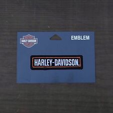 Harley Davidson Authentic Patch - HD - Small Emblem Badge