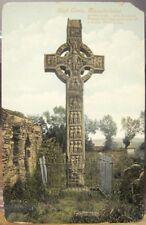Irish Postcard Celtic HIGH CROSS Monasterboice LOUTH Ireland JV 54175 Sculptured
