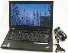 "Lenovo Thinkpad T420s 14"" Core i5 2.50GHz 4GB 500GB Laptop Adapter WiFi Web Cam"