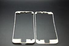 2x iPhone 6 White Bezel, cadre avec Hot Melt Glue, plus forte Colle Sur Elle