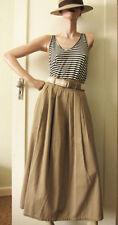 Casual 100% Cotton Vintage Skirts for Women