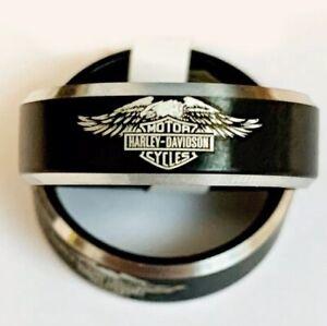 Harley Davidson Inspired Ring Size 6
