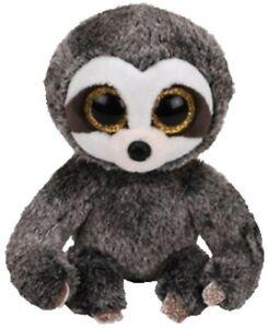 NEW Beanie Boos Regular Dangler Grey Sloth from Mr Toys