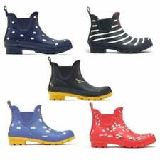 Joules WELLIBOB Ladies Womens Waterproof Comfort Rubber Short Wellington Boots
