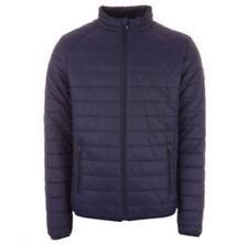 Cappotti e giacche da uomo Bomber, Harrington Blu Taglia 48