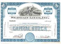 Specimen: Seatrain Lines In