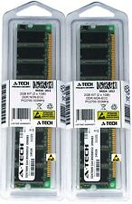 A-Tech 2GB 2 x 1GB PC2700 Desktop DDR 333 MHz 184-pin DIMM DDR1 Memory RAM 2G 1G