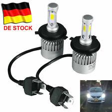 2X 200W 20000LM H4 COB LED Scheinwerfer HI-LO Lichter Nachrüstsatz 6500K